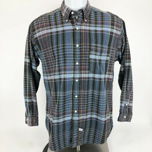 RALPH LAUREN Shirt Medium M Long Sleeve Plaid